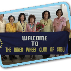 10 Oct 2015: District Chairman Daisy Chong visits IWC Sibu