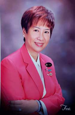 Viola Tsen, Inner Wheel District 331 Chairman 2016-2017